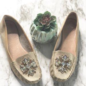 Nurture | embellished loafers • 9